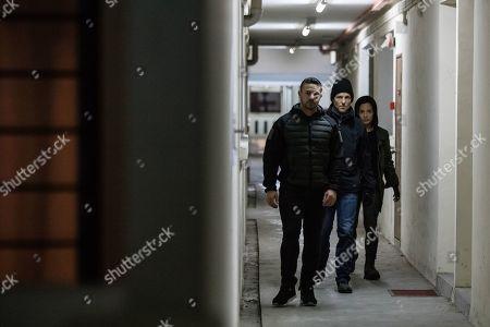 Warren Brown as Sgt. Thomas 'Mac' McAllister, Jamie Bamber as Col. Alexander Coltrane and Alin Sumarwata as LCpl. Gracie Novin