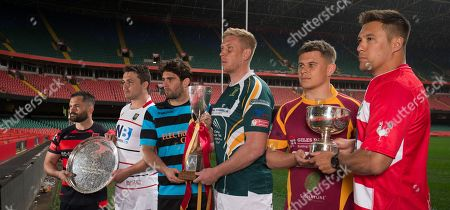 Editorial image of WRU Finals Day Photocall - 24 Apr 2019