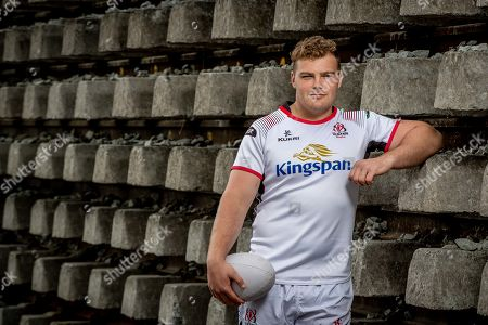 Stock Photo of Eric O'Sullivan was speaking at Kingspan's Ulster Rugby media event in Dublin today, April 24th, ahead of Saturday's interprovincial derby with Leinster. Kingspan delivers high efficiency, low carbon building solutions and is the naming rights partner and front of jersey sponsor of Ulster Rugby