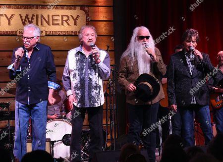 Joe Bonsall, Duane Allen, William Lee Golden, Richard Sterban of The Oak Ridge Boys