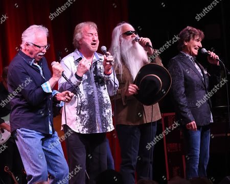 Stock Photo of Joe Bonsall, Duane Allen, William Lee Golden, Richard Sterban of The Oak Ridge Boys
