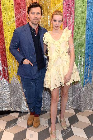 Robert Montgomery and Greta Bellamacina
