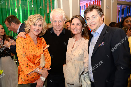 Anthea Turner, Richard Curtis and guests