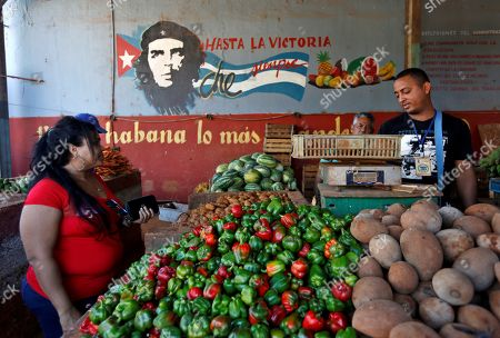 Editorial photo of Daily life in La Habana, Havana, Cuba - 24 Apr 2019