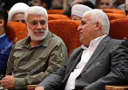 Advisor Iraqi National Security Falih Alfayyadh R Editorial Stock ...