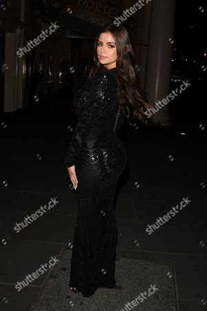 Demi Rose in Mayfair