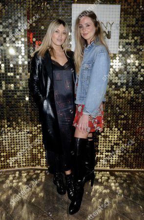 Stock Photo of Kara Rose Marshall and Diana Vickers