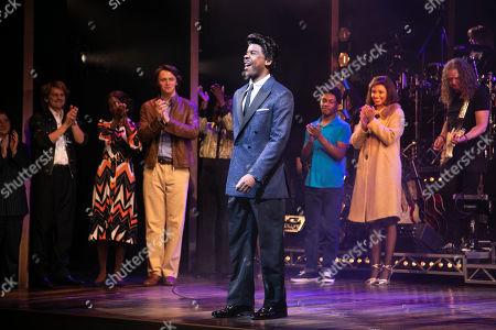 Stock Image of Ashley Zhangazha (Ike Turner) during the curtain call