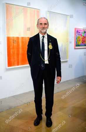 Editorial picture of 34th London Original Print Fair Priview, Royal Academy of Arts, London, UK - 24 Apr 2019