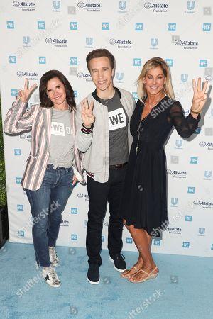 Patricia Arvielo, Craig Kielburger and Stephanie Argyros