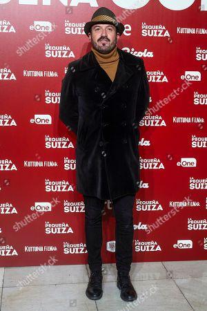 Editorial image of 'La Pequena Suiza' Film Premiere, Madrid, Spain - 24 Apr 2019