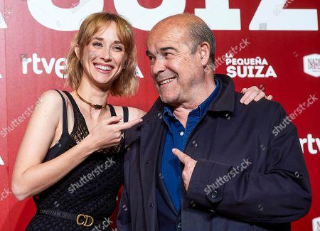 Ingrid Garcia-Jonsson and Antonio Resines