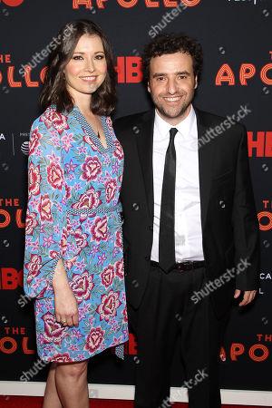 Stock Photo of David Krumholtz and Vanessa Britting