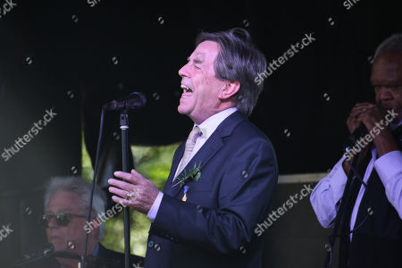 John Paul Young during the 'Coloured Diggers March'