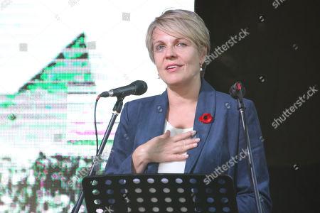 Hon, Tanya Plibersek MP during the 'Coloured Diggers March'