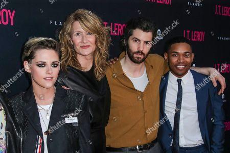 Stock Photo of Kristen Stewart, Laura Dern, Jim Sturgess and Kelvin Harrison Jr