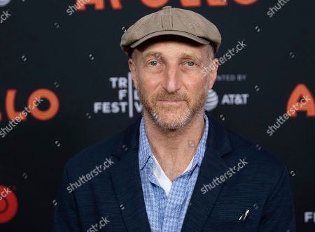 "Jonathan Ames attends the screening for ""The Apollo"" during the 2019 Tribeca Film Festival at the Apollo Theater, in New York"