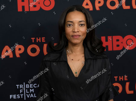 "Alice Smith attends the screening for ""The Apollo"" during the 2019 Tribeca Film Festival at the Apollo Theater, in New York"
