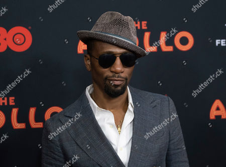 "Leon Robinson. Leon Robinso attends the screening for ""The Apollo"" during the 2019 Tribeca Film Festival at the Apollo Theater, in New York"