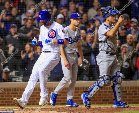 Editorial image of Los Angeles Dodgers at Chicago Cubs, USA - 24 Apr 2019