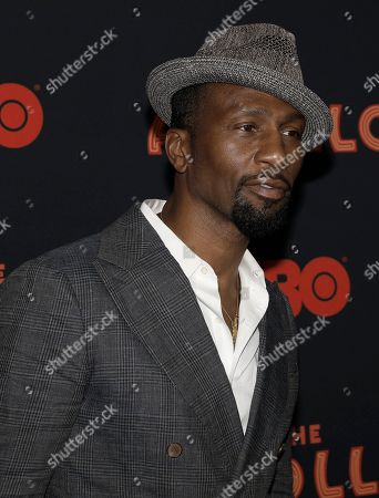Leon Robinson attends the opening night of the 2019 Tribeca Film Festival World Premiere of the HBO Documentary film 'The Apollo' at the Apollo theater in New York, New York, 24 April 2019.