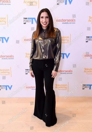 """Shoshannah Stern attends """"The Power of TV: Representing Disability in Storytelling,"""" a public event and co-presentation of the Television Academy Foundation and Easterseals on at the Saban Media Center in North Hollywood, Calif"""