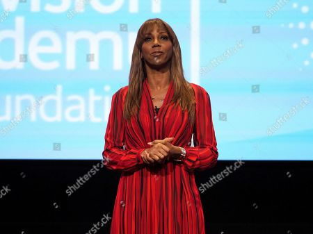 """Holly Robinson Peete moderates """"The Power of TV: Representing Disability in Storytelling,"""" a public event and co-presentation of the Television Academy Foundation and Easterseals on at the Saban Media Center in North Hollywood, Calif"""