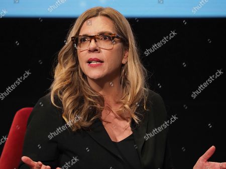 Krista Vernoff, show runner and executive producer of Grey's Anatomy, takes part in a lively panel discussion
