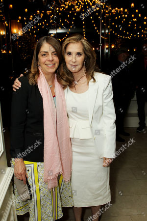 Nancy Abrham (HBO Docs), Paula Weinstein (EVP of Tribeca Enterprises)
