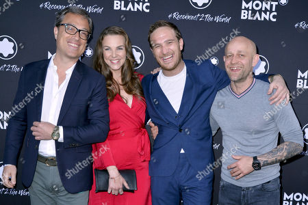 Editorial photo of Montblanc #Reconnect 2 The World party, Berlin, Germany - 24 Apr 2019