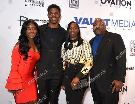 Laquana Houston, Greedy Williams, mother Lakesha Williams, stepfather Lonnie Bryant