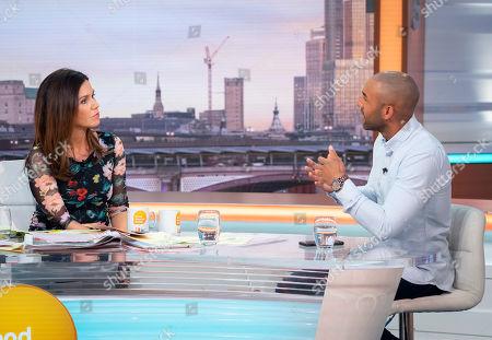 Editorial photo of 'Good Morning Britain' TV show, London, UK - 25 Apr 2019