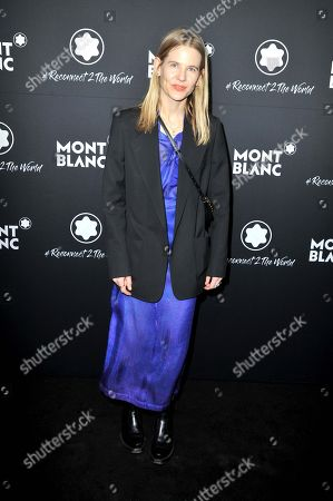 Editorial picture of Montblanc #Reconnect 2 The World party, Berlin, Germany - 24 Apr 2019