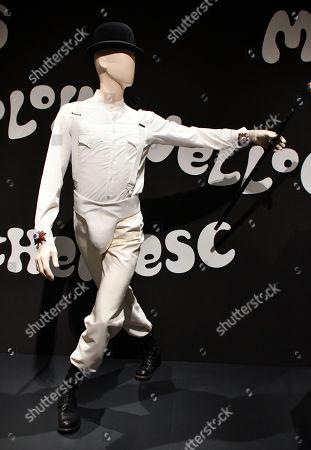 Stock Photo of Alex's costume, design by Milena Canonero, from 'A Clockwork Orange'