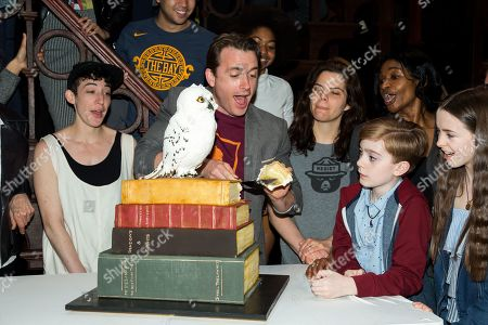Stock Photo of James Snyder and cast members of Harry Potter and the Cursed Child
