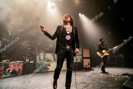 Rival Sons - Jay Buchanan, Scott Holiday performing at The Fillmore
