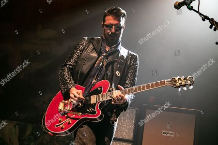 Rival Sons - Scott Holiday performing at The Fillmore