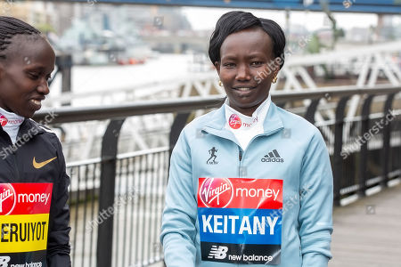 Vivian Cheruiyot and Mary Keitany