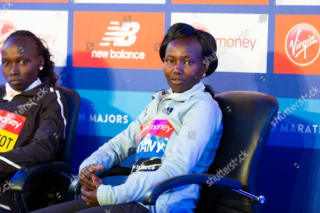 Elite women's press conference with Vivian Cheruiyot, Mary Keitany
