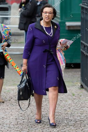 Baroness Patricia Scotland, Commonwealth Secretary attends Anzac Day Service held at Westminster Abbey.
