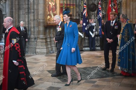 Duke of Gloucester, Catherine Duchess of Cambridge and Prince Harry