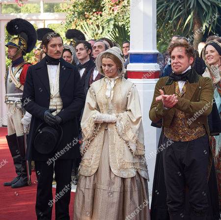 Nicholas Audsley as Duke of Monmouth, Lily Travers as Duchess Sophie Monmouth and David Newman as Henry Cole.