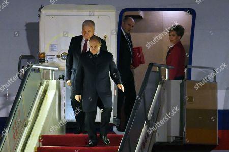 Editorial image of Russian President Vladimir Putin in Beijing, China - 25 Apr 2019