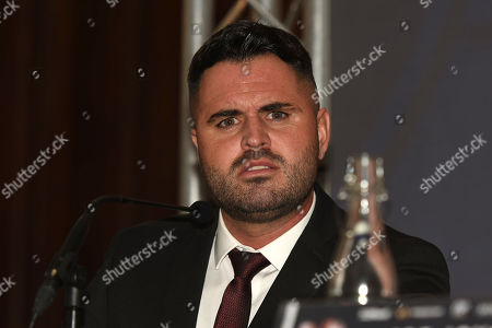 Sam Jones during a Press Conference at the Landmark Hotel on 25th April 2019
