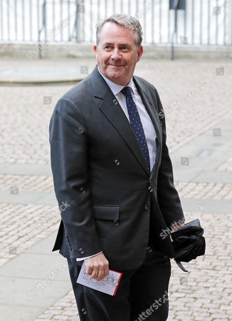 Liam Fox, Secretary of State for International Trade and President of the Board of Trade