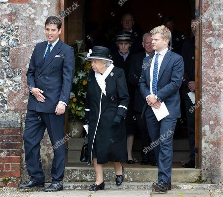 Jake Warren and Queen Elizabeth II