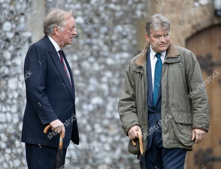 Andrew Parker Bowles and The Earl of Carnarvon