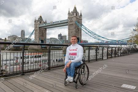 Wheelchair athletes David Weir