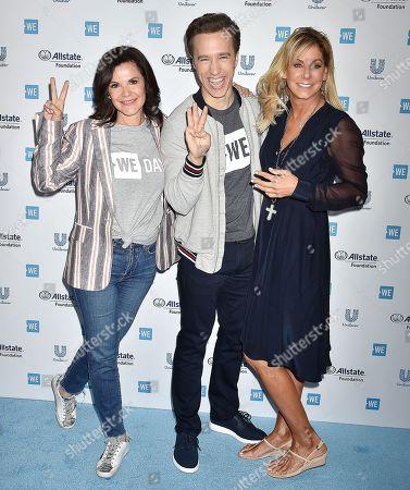 Stephanie Argyros, Patricia Arvielo, Craig Kielburger