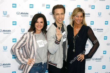 Patrica Arvielo, Craig Kielburger, Stephanie Argyros